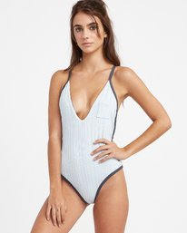 Linear - One Piece Swimsuit for Women  N3SWRERVP9