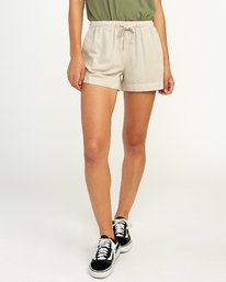 0 New Yume - Short pour Femme Beige N3WKRYRVP9 RVCA