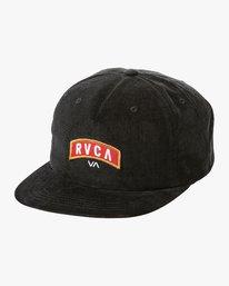 0 Everett Snapback Cap Black N5CPRHRVP9 RVCA
