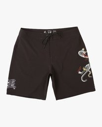 0 Colin And Bert Trunk Black P1BSRVRVS9 RVCA