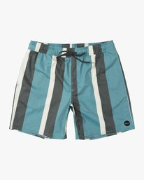 "0 Eclectic Elastic Short - 17"" Boardshorts for Men Blue P1VORCRVS9 RVCA"