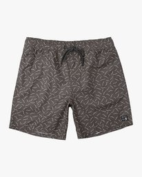 "0 Program Elastic 17"" Boardshorts Black P1VORDRVS9 RVCA"