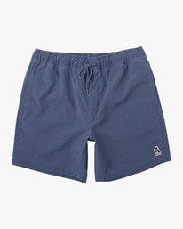 "0 Washer Elastic Short - 17"" Boardshorts for Men Blue P1VORERVS9 RVCA"