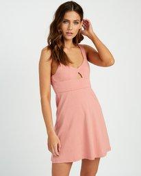 0 All Talk Knit Dress Brown P3DRRFRVS9 RVCA
