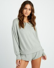 Daydream - Knit Sweatshirt for Women  P3FLRBRVS9