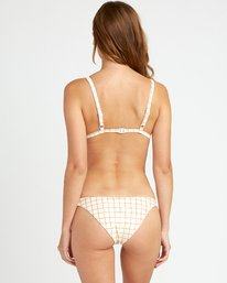 Kristen Liu Wong Grid - Medium Bikini Bottoms for Women  P3SBRCRVS9