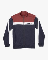 0 Pali Track  - Zip-Up Jacket  Q1FLRARVF9 RVCA