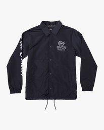 0 Berni Coaches  - Jacket Blue Q1JKRHRVF9 RVCA