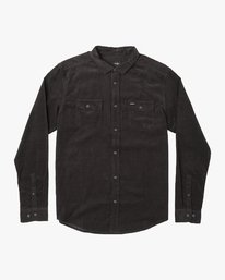 0 Freeman Corduroy  - Long Sleeve Shirt  Q1SHRMRVF9 RVCA