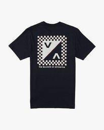 0 Check Mate  - T-Shirt à manches courtes pour Homme  Q1SSSDRVF9 RVCA