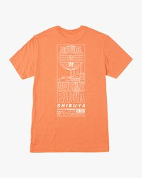 0 SUPER SHIBUYA SS Orange Q1SSTQRVF9 RVCA