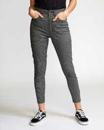 Solar Houndstooth  - Trousers  Q3PTRCRVF9