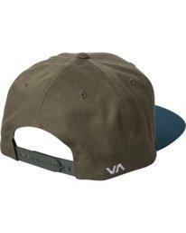 1 RVCA Twill - Snapback Hat for Men Green Q5CPRCRVF9 RVCA