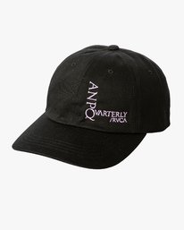 0 ANP Quarterly - Slider Hat for Men Black Q5CPTBRVF9 RVCA
