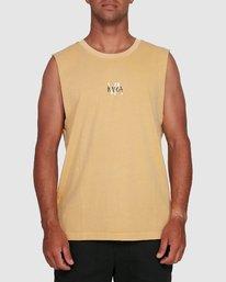 1 VA SANDS MUSCLE Yellow R105002 RVCA
