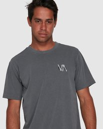 4 VA SANDS SHORT SLEEVE TEE Grey R105045 RVCA