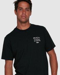 4 RVCA FAIRFAX SHORT SLEEVE TEE  R105046 RVCA