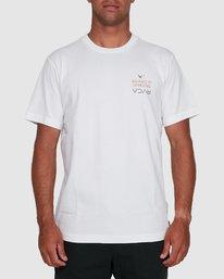 0 RVCA FAIRFAX SHORT SLEEVE TEE White R105046 RVCA