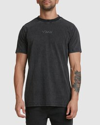 0 RVCA MINI FLIPPED SHORT SLEEVE TEE Black R105048 RVCA