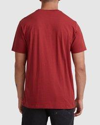 2 Rvca Washed Short Sleeve Tee Pink R105050 RVCA