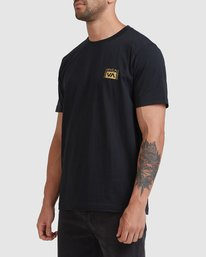 1 Vert Liner Short Sleeve Tee Black R105052 RVCA