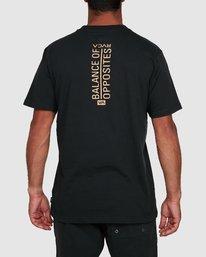 8 Vert Liner Short Sleeve Tee Black R105052 RVCA