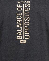 10 Vert Liner Short Sleeve Tee Black R105052 RVCA