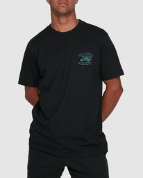 0 RVCA TOWING SHORT SLEEVE TEE  R105061 RVCA