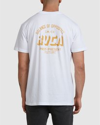 0 SHADOW TEE White R105076 RVCA