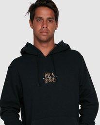 5 RVCA ANP PULLOVER Black R105152 RVCA