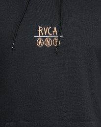 6 RVCA ANP PULLOVER Black R105152 RVCA