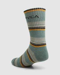 6 Rvca Seasonal Sock 4 Pack  R105601 RVCA