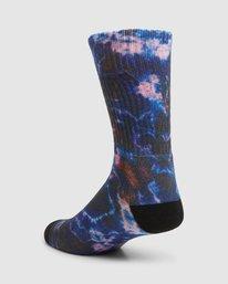 7 Rvca Seasonal Sock 4 Pack  R105601 RVCA