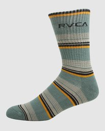 2 Rvca Seasonal Sock 4 Pack  R105601 RVCA