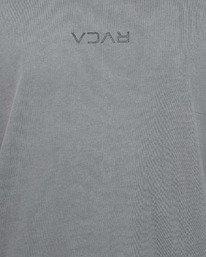 4 Rvca Mini Flipped Muscle Top Grey R106002 RVCA
