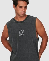 3 Puzzle Muscle Top  R106006 RVCA