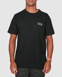 0 Anp Knockout Velia Short Sleeve Tee Black R106055 RVCA