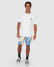 5 Vapor Er Short Sleeve Tee White R106064 RVCA