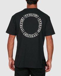 2 Baker Rvca Short Sleeve Tee Black R106068 RVCA