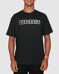 0 Ransom Short Sleeve Tee Black R106069 RVCA