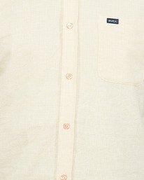 4 Crushed Check Short Sleeve Shirt Yellow R106187 RVCA