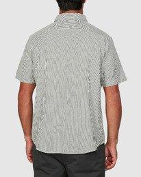 2 Endless Seersucker Short Sleeve Shirt Green R106189 RVCA