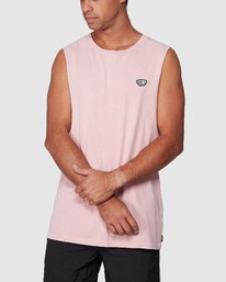 0 Ammo Muscle Top Pink R107001 RVCA