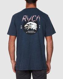 3 Screamin Eagle Short Sleeve Tee  R107043 RVCA