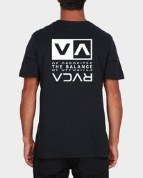0 RVCA Split Short Sleeve Tee  R107045 RVCA