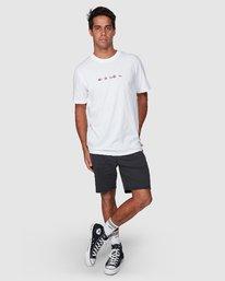 5 All Brand Short Sleeve Tee White R107049 RVCA