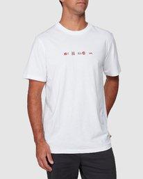 0 All Brand Short Sleeve Tee  R107049 RVCA