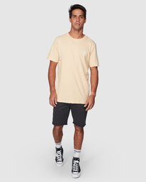 5 Boxed In Short Sleeve Tee  R107051 RVCA