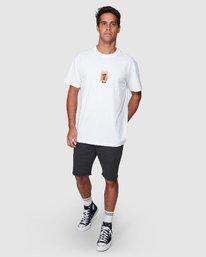 5 Mushie Mush Short Sleeve Tee  R107055 RVCA