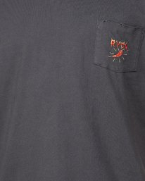 4 Spicy Pocket Short Sleeve Tee  R107057 RVCA